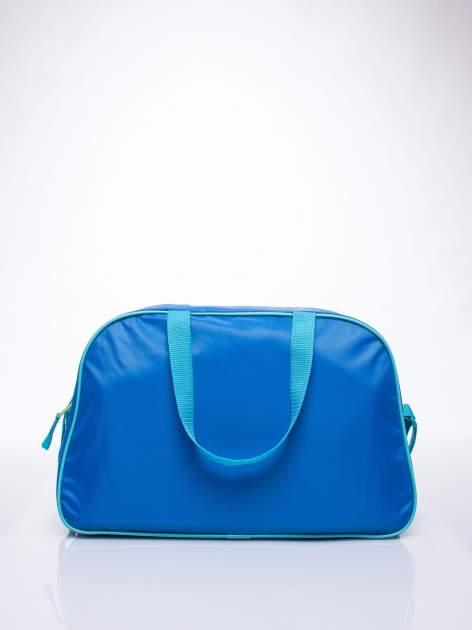 Niebieska torba szkolna DISNEY w rybki                                  zdj.                                  3