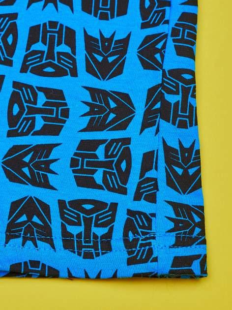 Niebieski chłopięcy komplet do spania TRANSFORMERS                                  zdj.                                  6