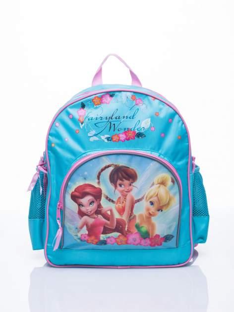 Niebieski plecak szkolny DISNEY Dzwoneczek