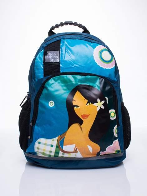 Niebieski plecak szkolny DISNEY Mulan                                  zdj.                                  1