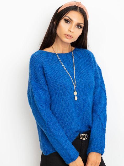 Niebieski sweter Tiffany                              zdj.                              5