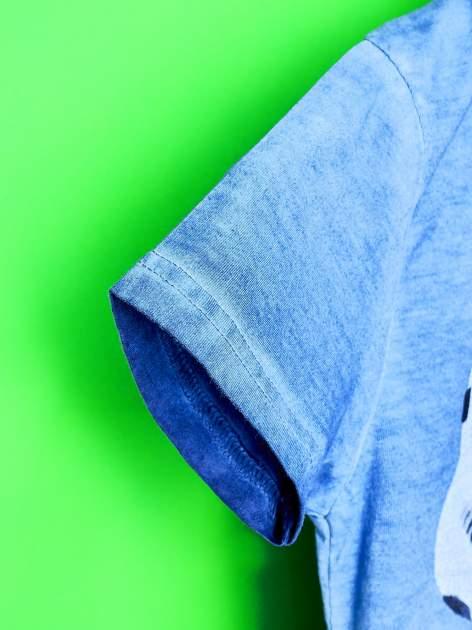 Niebieski t-shirt chłopięcy STAR WARS                                  zdj.                                  6