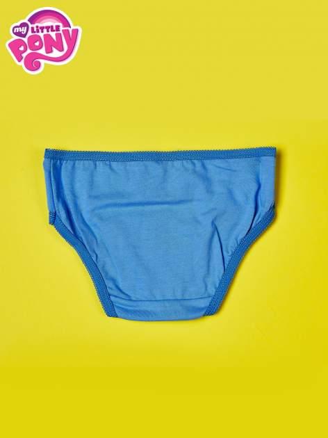 Niebieskie bawełniane majtki dla dziewczynki MY LITTLE PONY                                  zdj.                                  2