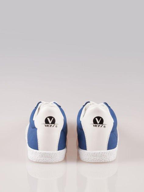Niebieskie buty sportowe w stylu casual Kash                                  zdj.                                  3
