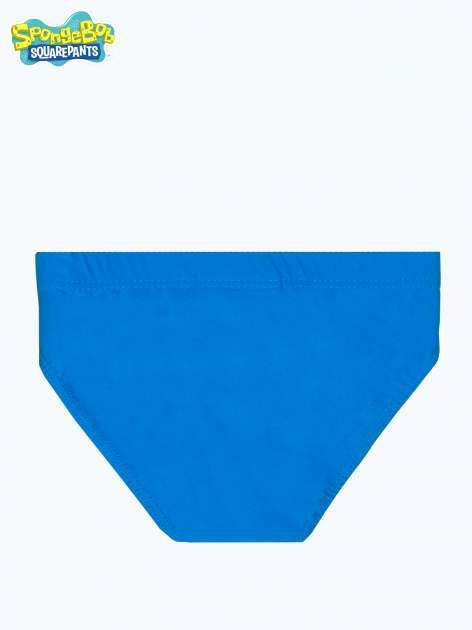 Niebieskie chłopięce kąpielówki SPONGEBOB