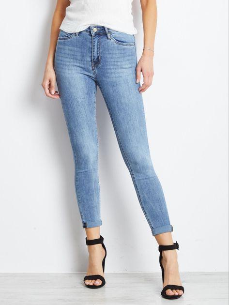Niebieskie jeansy Crushin                              zdj.                              1