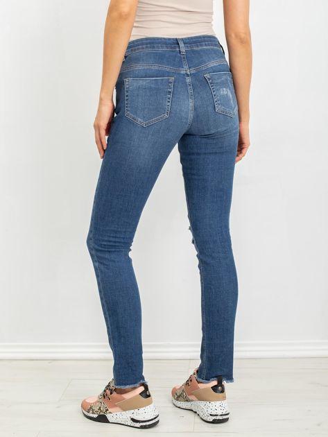 Niebieskie jeansy ciążowe Cuteness                              zdj.                              2