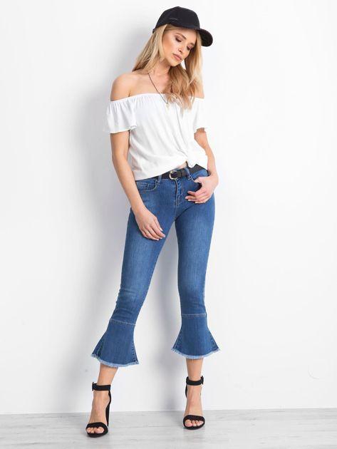 Niebieskie jeansy Emblematic                              zdj.                              4