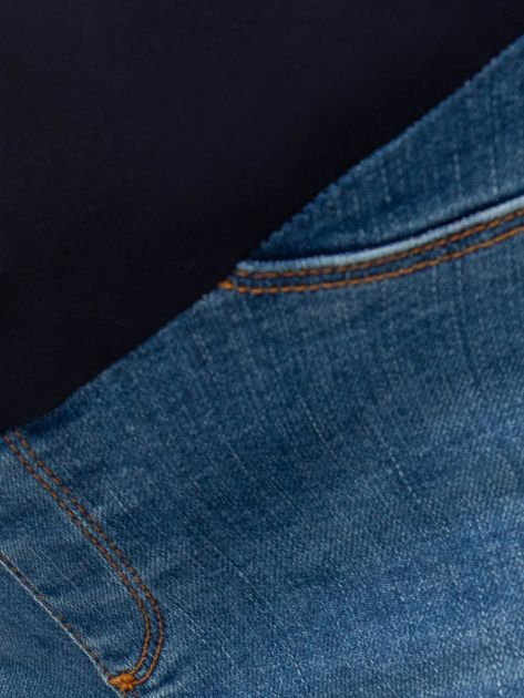 Niebieskie jeansy ciążowe Lillie                              zdj.                              3