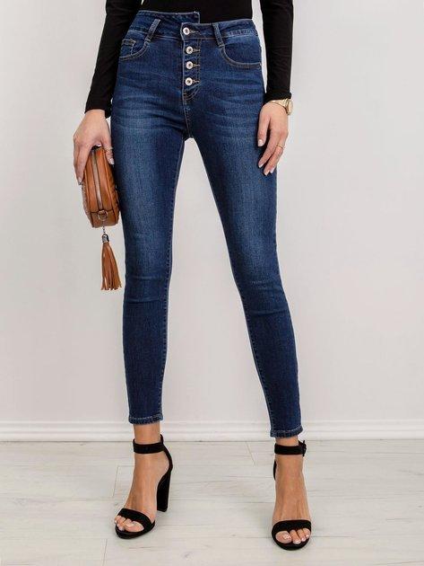 Niebieskie jeansy Luna