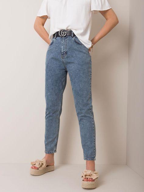 Niebieskie jeansy Marika RUE PARIS