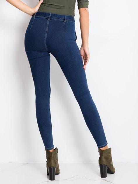 Niebieskie jeansy Miss                              zdj.                              2
