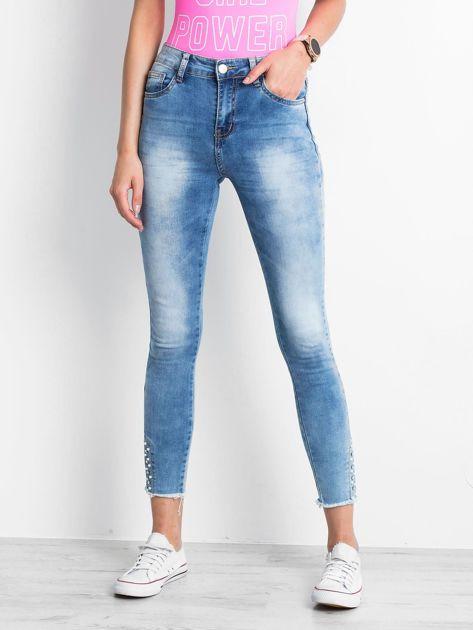 Niebieskie jeansy Prudence                               zdj.                              1