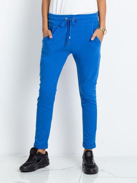 Niebieskie spodnie Cadence                              zdj.                              1
