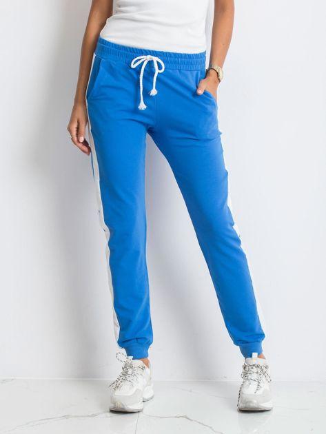 Niebieskie spodnie Carter                              zdj.                              1