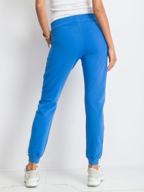 Niebieskie spodnie Carter                              zdj.                              2