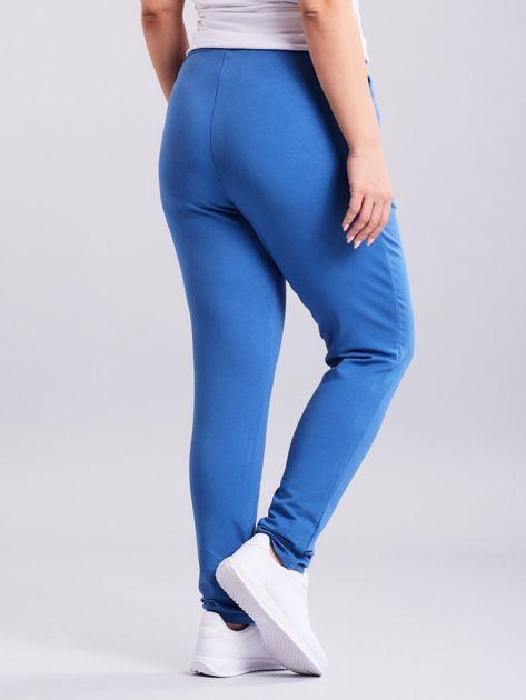 Niebieskie spodnie Enter                              zdj.                              2