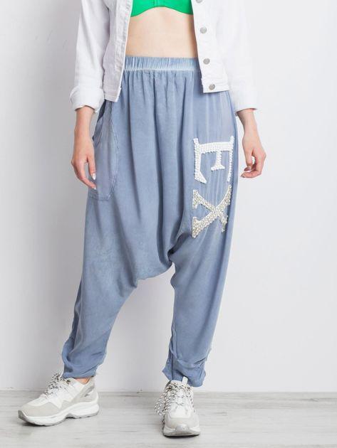 Niebieskie spodnie Halfway                              zdj.                              1