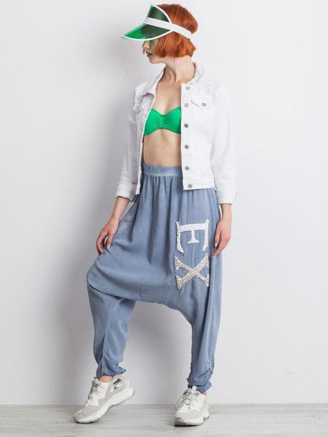 Niebieskie spodnie Halfway                              zdj.                              8
