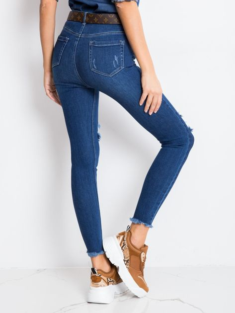 Niebieskie spodnie Lady                              zdj.                              2