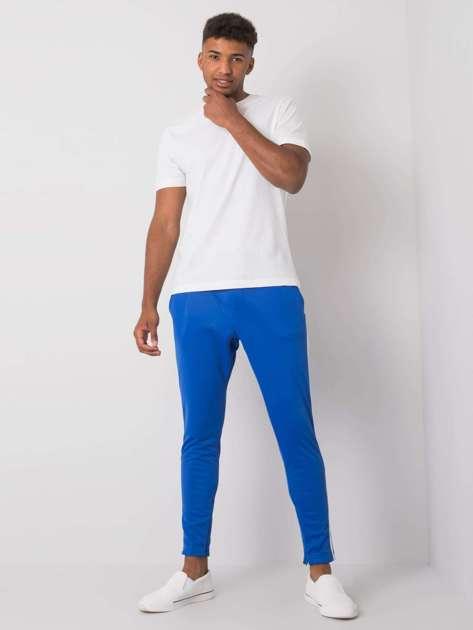 Niebieskie spodnie dresowe męskie Darren