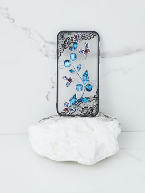 Niebiesko-czarne etui do iPhone 7G/8G
