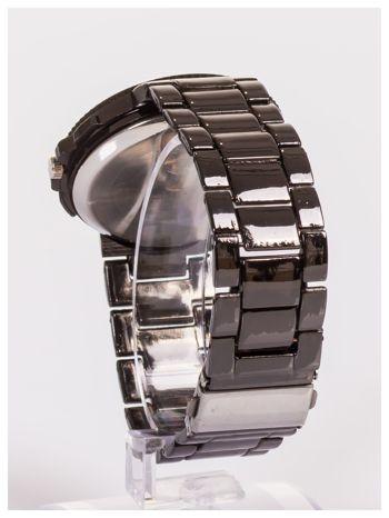 Nowoczesny męski zegarek z ozdobnym chronografem                                  zdj.                                  4