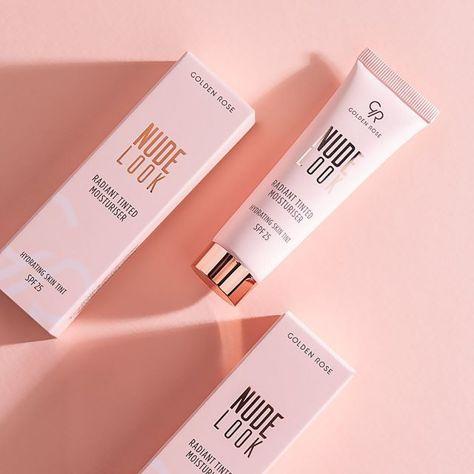 Nowość! GOLDEN ROSE Nude Look Koloryzujący krem z efektem rozświetlenia nr 01 Fair Tint  32 ml                              zdj.                              3