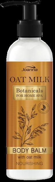 Nowość! JOANNA BOTANICALS FOR HOME SPA Balsam do ciała Mleczko owsiane odżywczy 250 g
