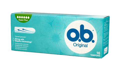 O.B. Original Super Plus Tampony 16 szt.
