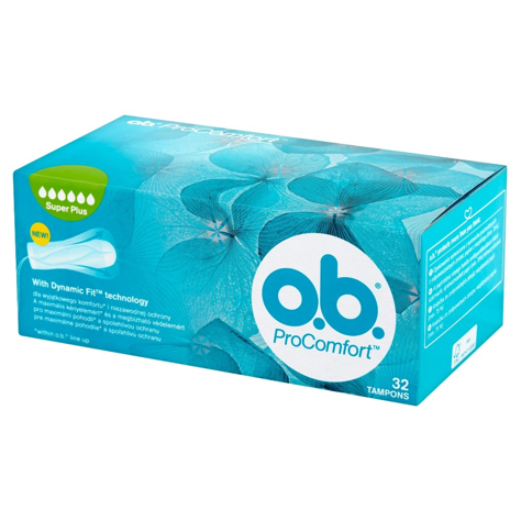 O.B.ProComfort Super Plus tampony 32 szt.