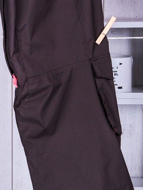 O'NEILL Brązowe spodnie narciarskie dla dziewczynki                              zdj.                              6