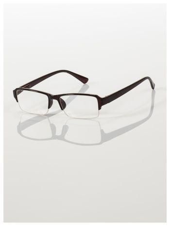 Okulary korekcyjne +1.5 D do czytania z systemem FLEX na zausznikach +GRATIS PLASTIKOWE ETUI I ŚCIERECZKA Z MIKROFIBRY                                  zdj.                                  2