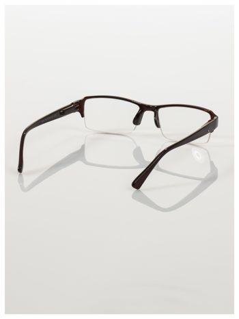 Okulary korekcyjne +2.5 D do czytania z systemem FLEX na zausznikach +GRATIS PLASTIKOWE ETUI I ŚCIERECZKA Z MIKROFIBRY                                  zdj.                                  4
