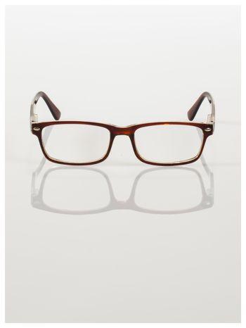 Okulary korekcyjne +2.5 D ,model WAYFARER do czytania z systemem FLEX na zausznikach +GRATIS PLASTIKOWE ETUI I ŚCIERECZKA Z MIKROFIBRY                                  zdj.                                  3