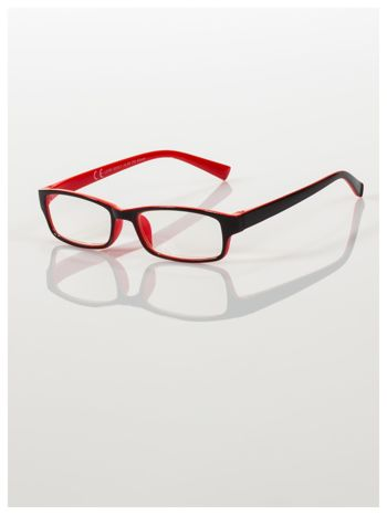 Okulary korekcyjne dwukolorowe do czytania +2.0 D