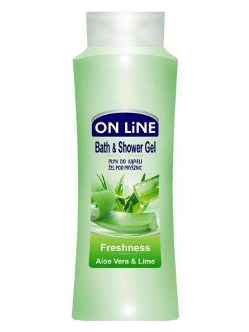 On Line Płyn do kąpieli i pod prysznic 2 w 1 Freshness  750 ml