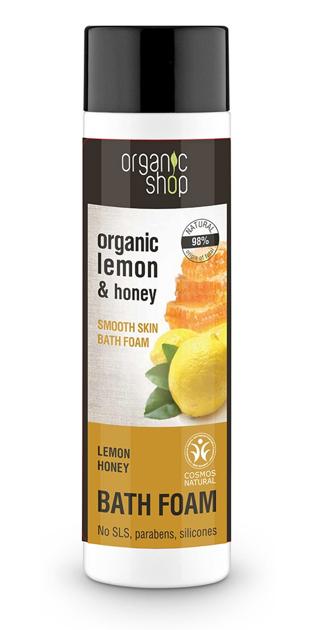 """Organic Shop Płyn do kąpieli Cytryna-Mód BDIH 500 ml"""""""