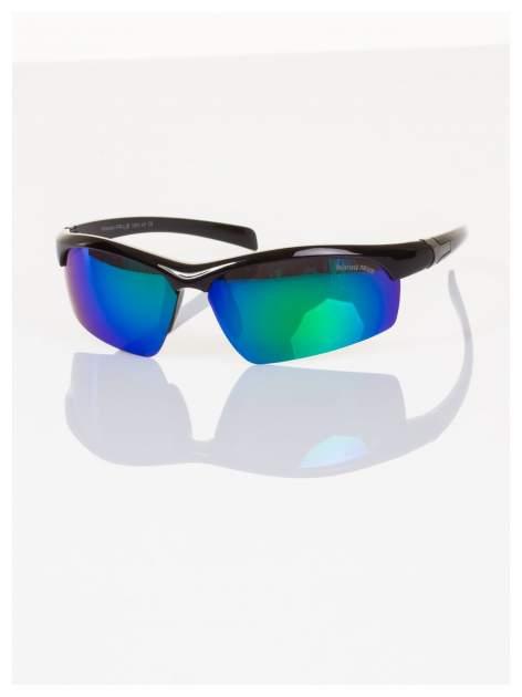 POLARYZACJA okulary sportowe męskie z lustrzanymi szkłami na rower i nie tylko!+GRATISY                                  zdj.                                  1