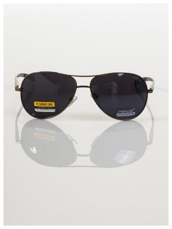 POLYCARBON PRIUS- Pilotki odporne na zarysowania ,unisex okulary przeciwsłoneczne z systemem FLEX na zausznikach                                  zdj.                                  5