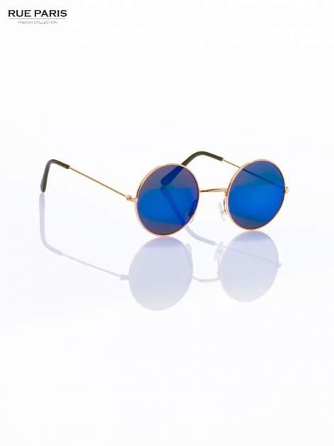 PONADCZASOWE okulary przeciwsłoneczne zielono-niebieskie lustrzanki LENONKI                                  zdj.                                  3
