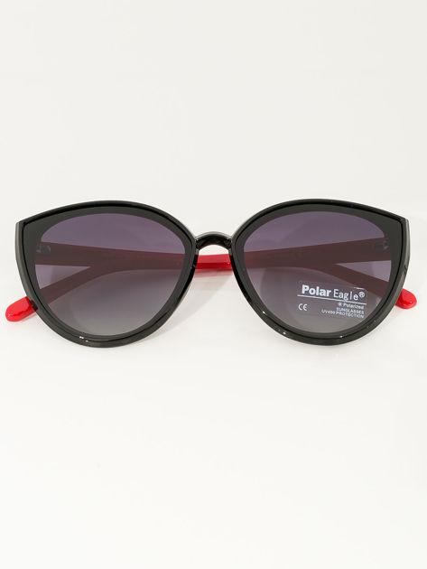 PREMIUM czerwono-czarne przeciwsłoneczne okulary POLARYZACYJNE                              zdj.                              1