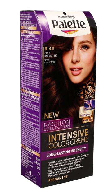 """Palette Intensive Color Creme Krem koloryzujący nr 5-46 ciepły świetlisty beż  1op."""""""