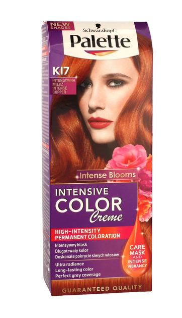 "Palette Intensive Color Creme Krem koloryzujący nr K17-intensywna miedź  1op."""