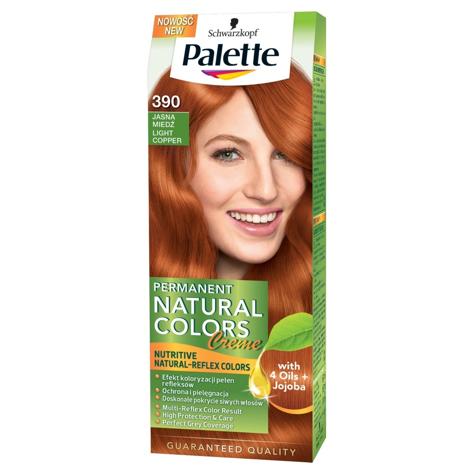 """Palette Permanent Natural Colors Czysta Miedź nr 390  1op."""""""