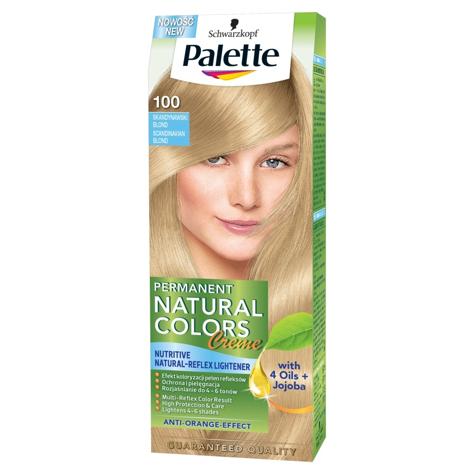 """Palette Permanent Natural Colors Skandynawski Blond nr 100  1op."""""""