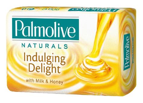 Palmolive Naturals Mydło w kostce Indulging Delight Mleko i Miód 90 g