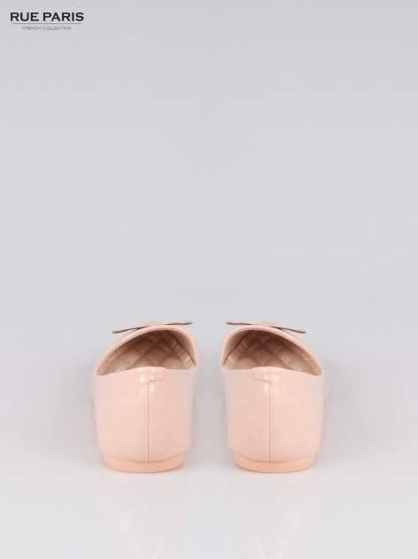Pasteloworóżowe baleriny Dazzle Love z sercem                                  zdj.                                  3