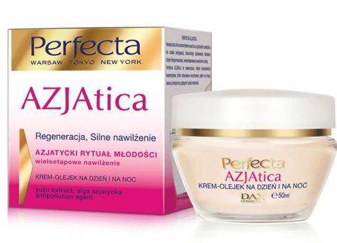 Perfecta Azjatica White Krem-olejek na dzień i noc Regeneracja i silne nawilżenie 50 ml