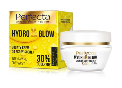 """Perfecta Hydro & Glow Bogaty Krem intensywnie odżywczy 30% gliceryny - do cery suchej  50ml"""""""